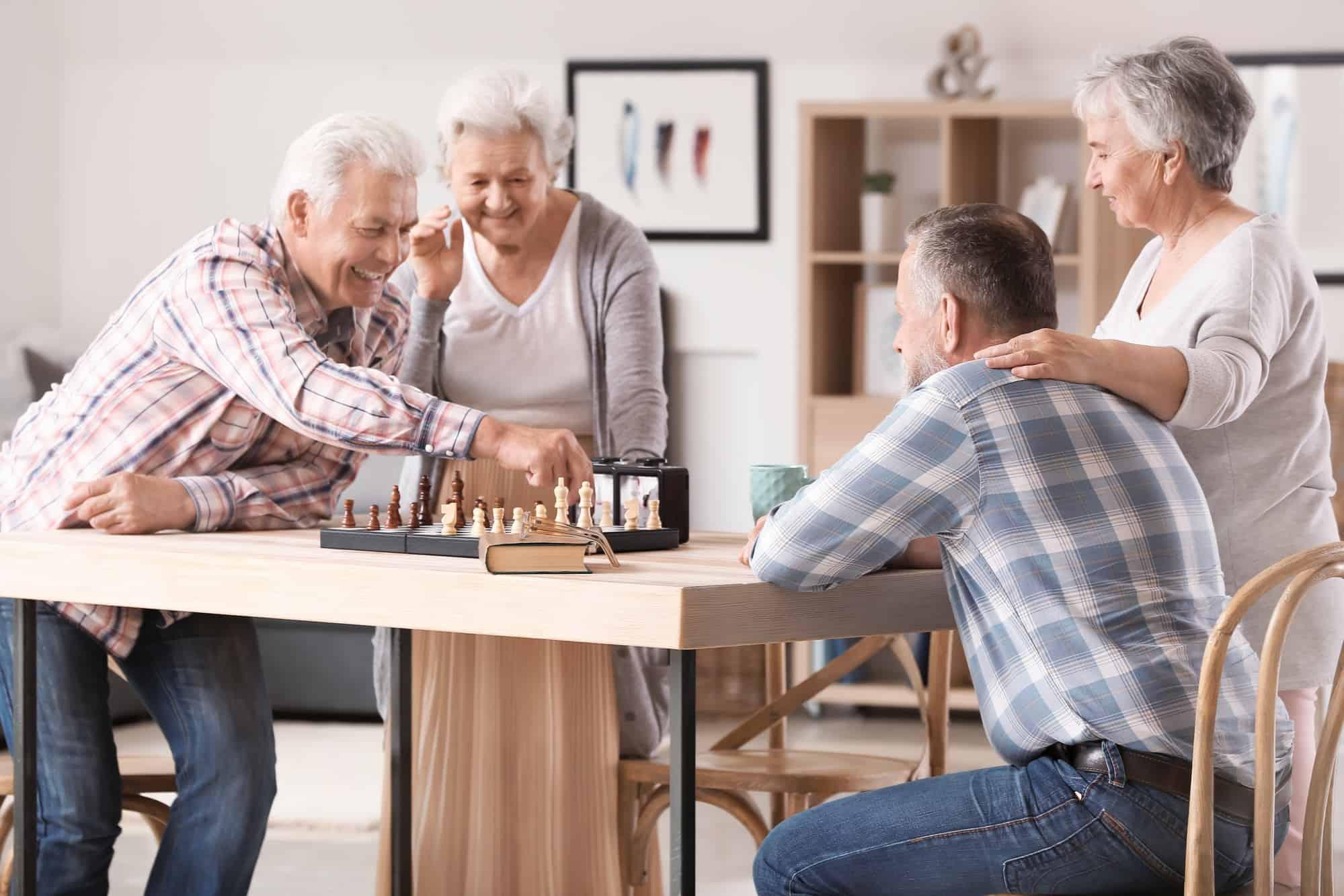 Activités de vie à la retraite